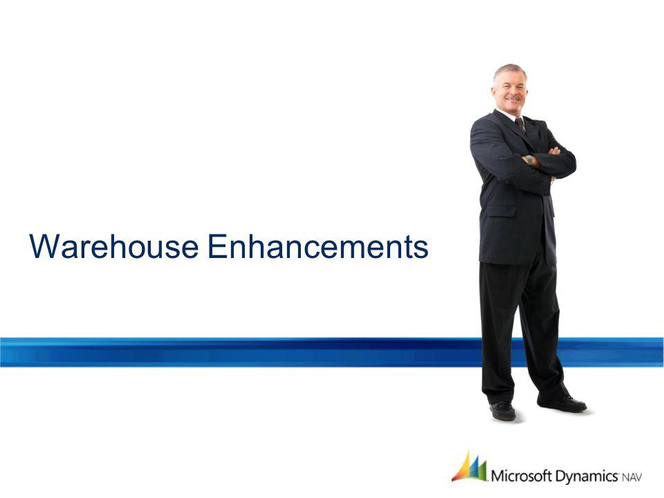 Warehouse Enhancements