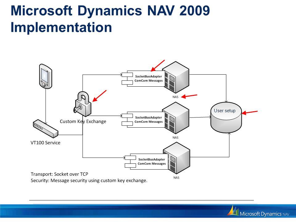 Microsoft Dynamics NAV 2009 Implementation User setup