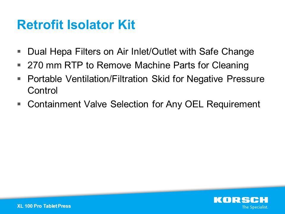 Retrofit Isolator Kit Dual Hepa Filters on Air Inlet/Outlet with Safe Change 270 mm RTP to Remove Machine Parts for Cleaning Portable Ventilation/Filt