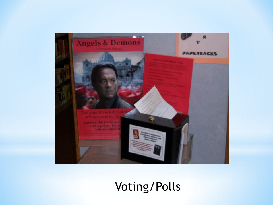 Voting/Polls