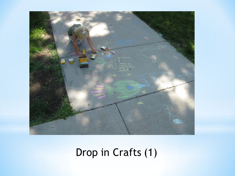 Drop in Crafts (1)