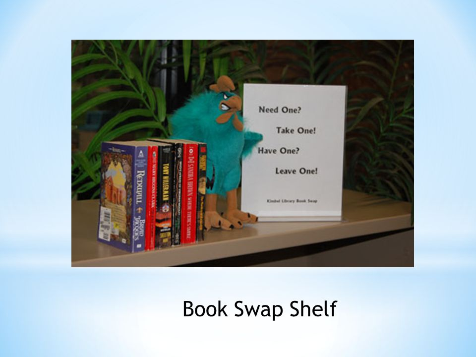 Book Swap Shelf
