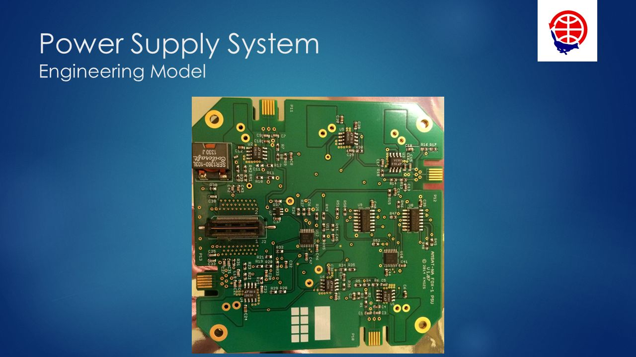 Power Supply System Engineering Model