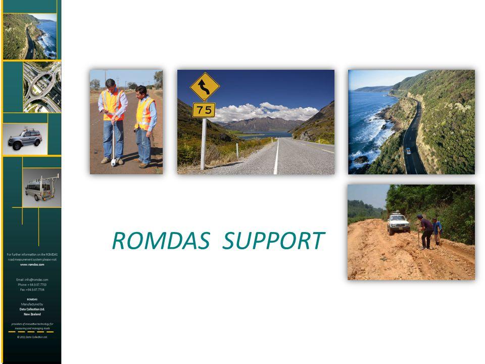 ROMDAS SUPPORT