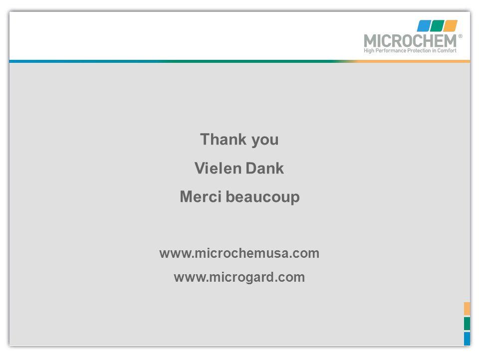 www.microchemusa.com www.microgard.com Thank you Vielen Dank Merci beaucoup