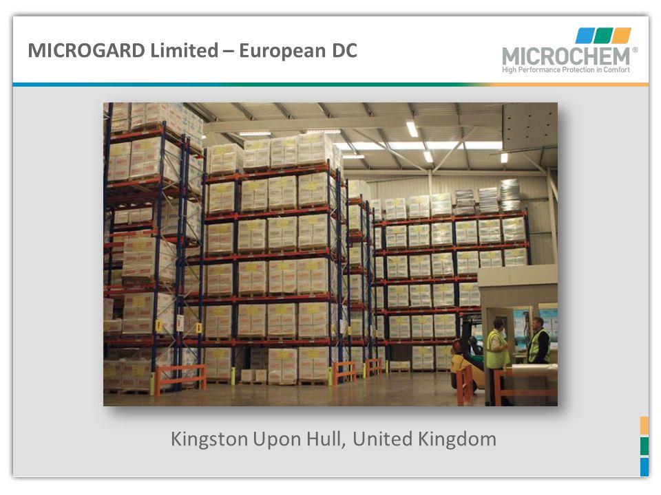 Microgard Ltd – Hull, UK MICROGARD Limited – European DC Kingston Upon Hull, United Kingdom