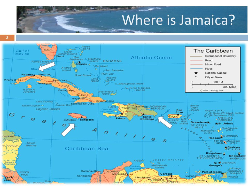 Where is Jamaica? 2