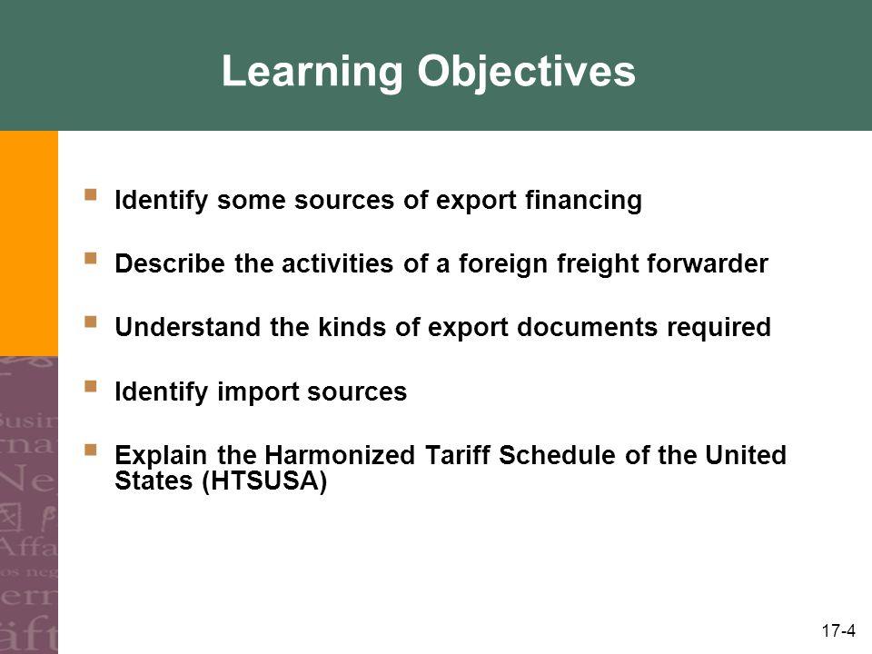 17-25 Payment (Financing) Procedures, contd.
