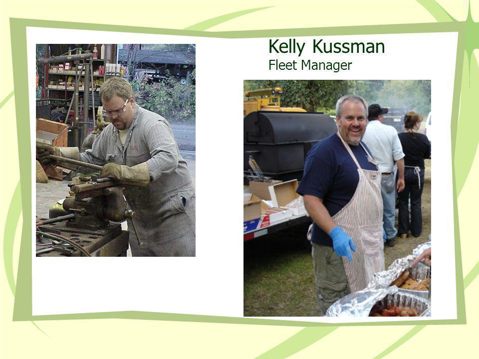 Kelly Kussman Fleet Manager