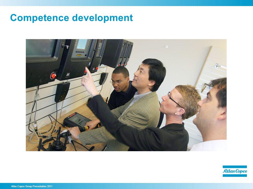 Competence development Atlas Copco Group Presentation 2011