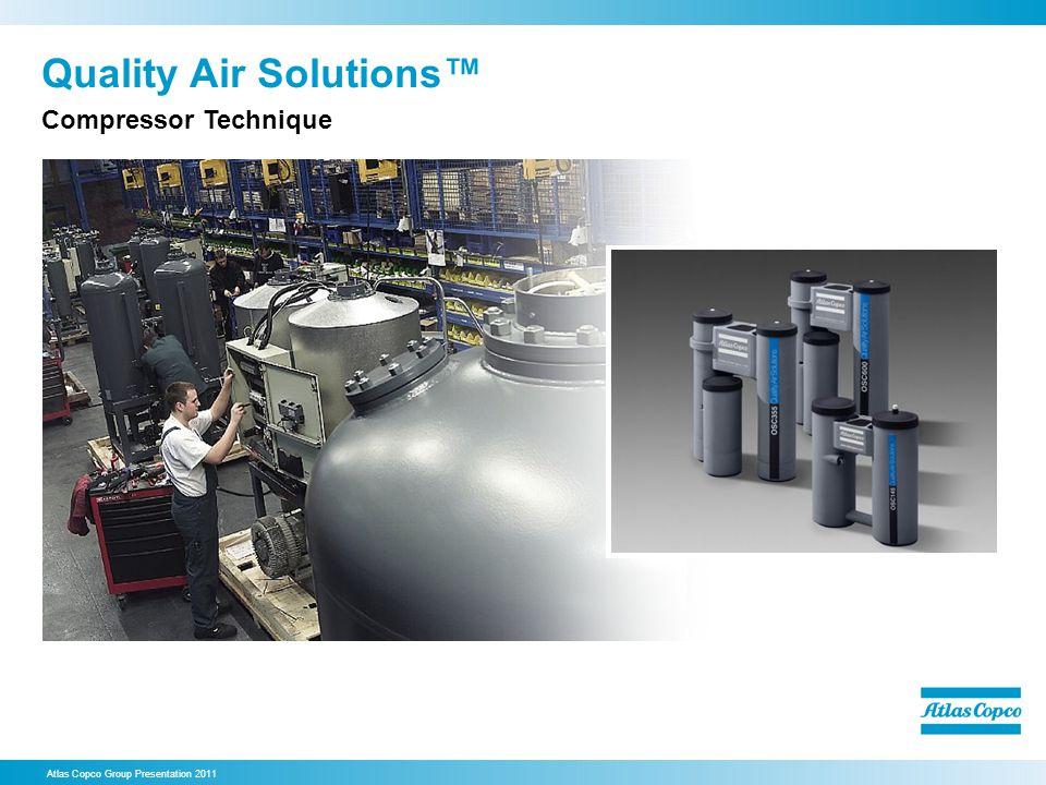 Quality Air Solutions Atlas Copco Group Presentation 2011 Compressor Technique