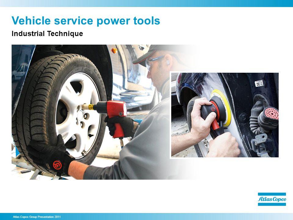 Vehicle service power tools Atlas Copco Group Presentation 2011 Industrial Technique