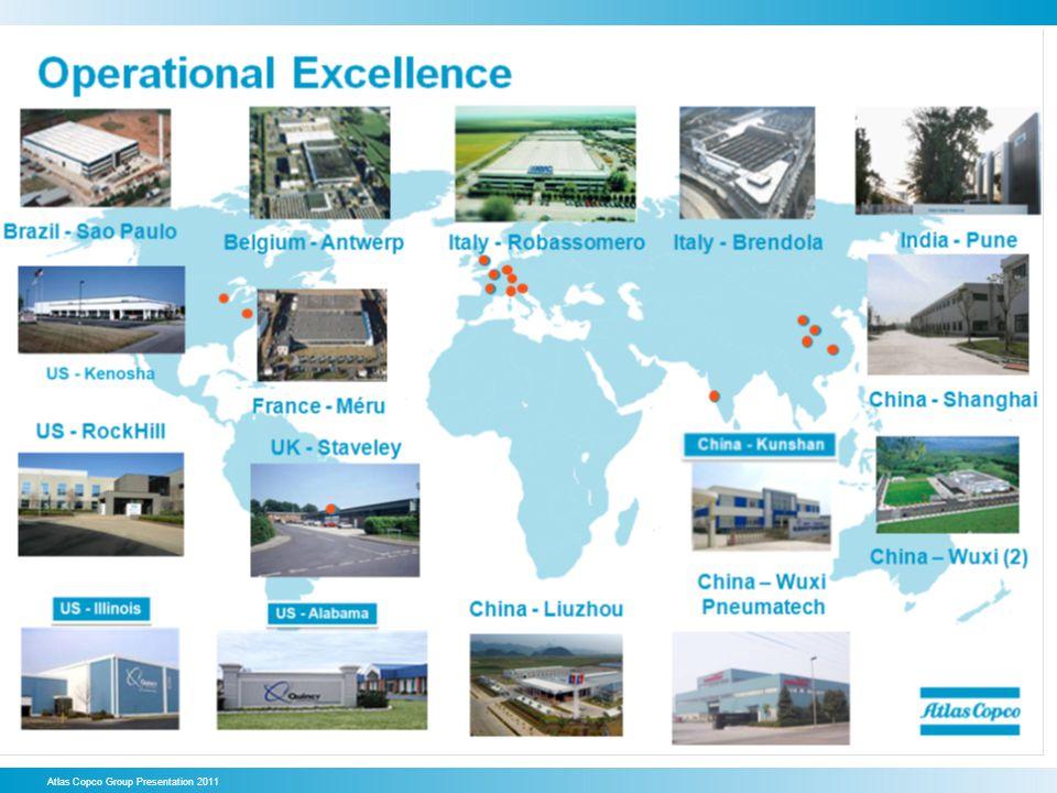 Atlas Copco Group Presentation 2011
