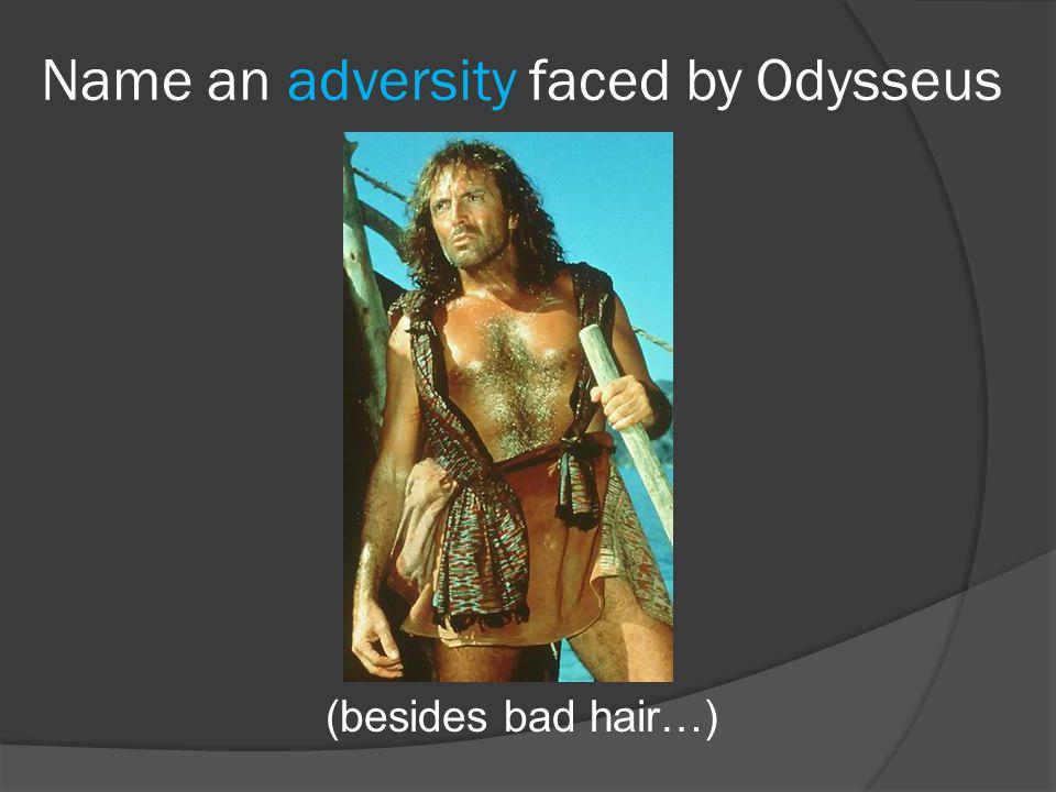For whom does Odysseus have disdain?