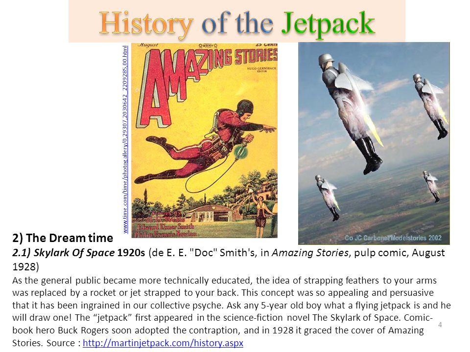 2) The Dream time 2.1) Skylark Of Space 1920s (de E. E.
