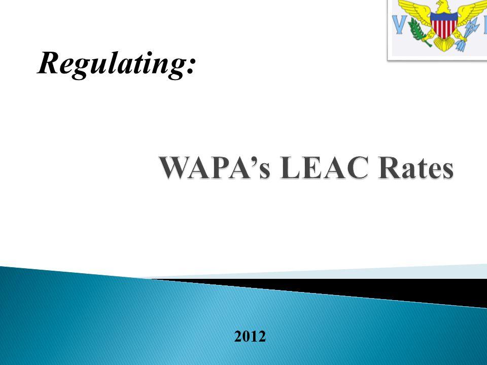 2012 Regulating: