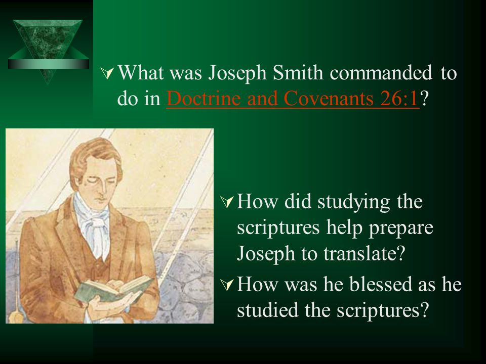How did Joseph Smith know there were mistakes in the Bible? How did these mistakes occur? How did Joseph correct these mistakes?