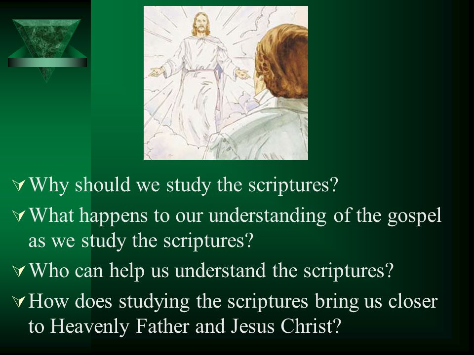 What was Joseph Smith commanded to do in Doctrine and Covenants 26:1?Doctrine and Covenants 26:1 How did studying the scriptures help prepare Joseph t