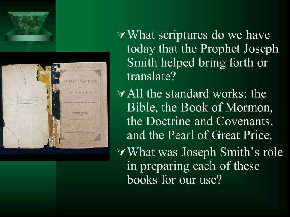 What did Joseph Smith do before he began to translate the writings on the papyrus rolls? Why did he study the Egyptian language? Why could Joseph tran