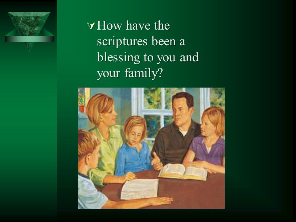 What scriptures do we have today that the Prophet Joseph Smith helped bring forth or translate? All the standard works: the Bible, the Book of Mormon,