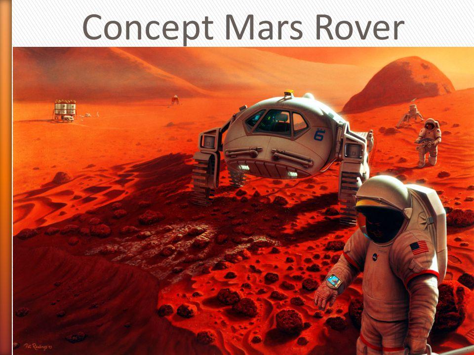 Concept Mars Rover