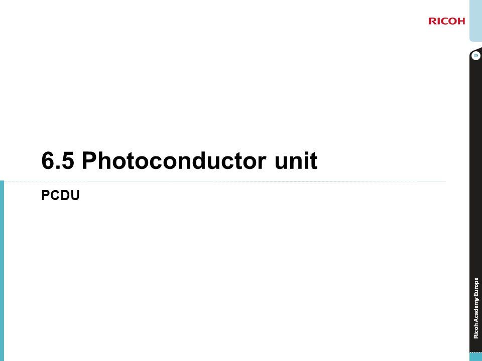 Ricoh Academy Europe 6.5 Photoconductor unit PCDU 89