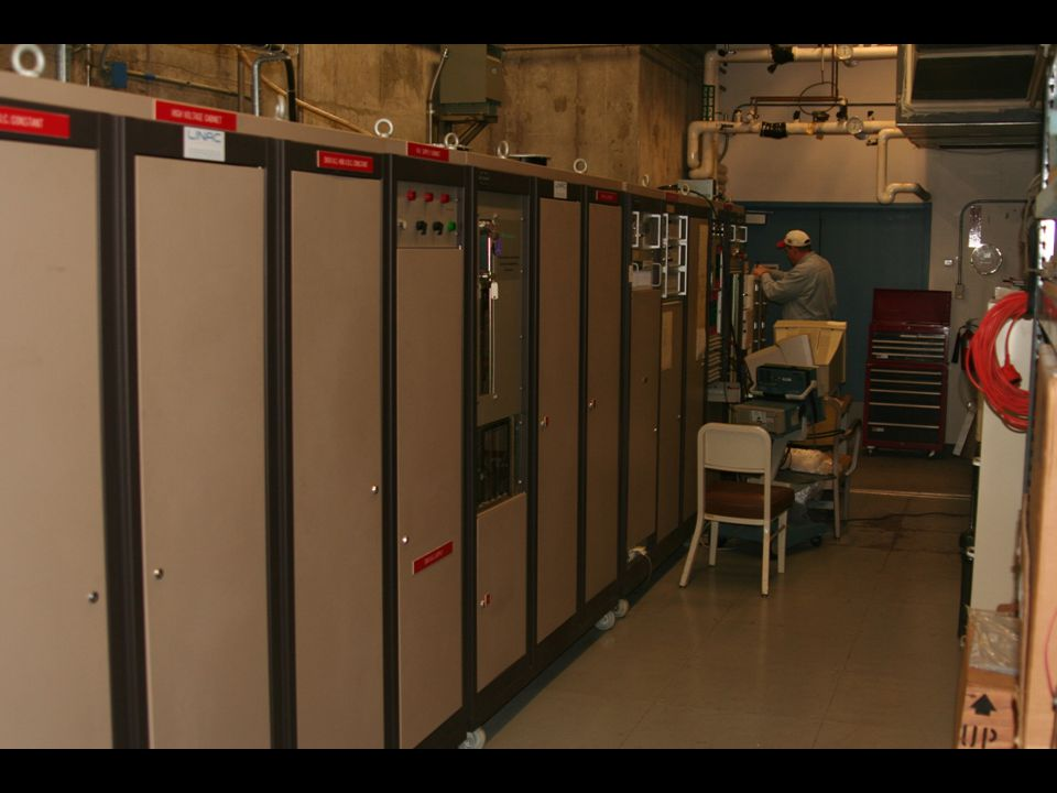 ISU Research Accelerator Power Supply and Control Room