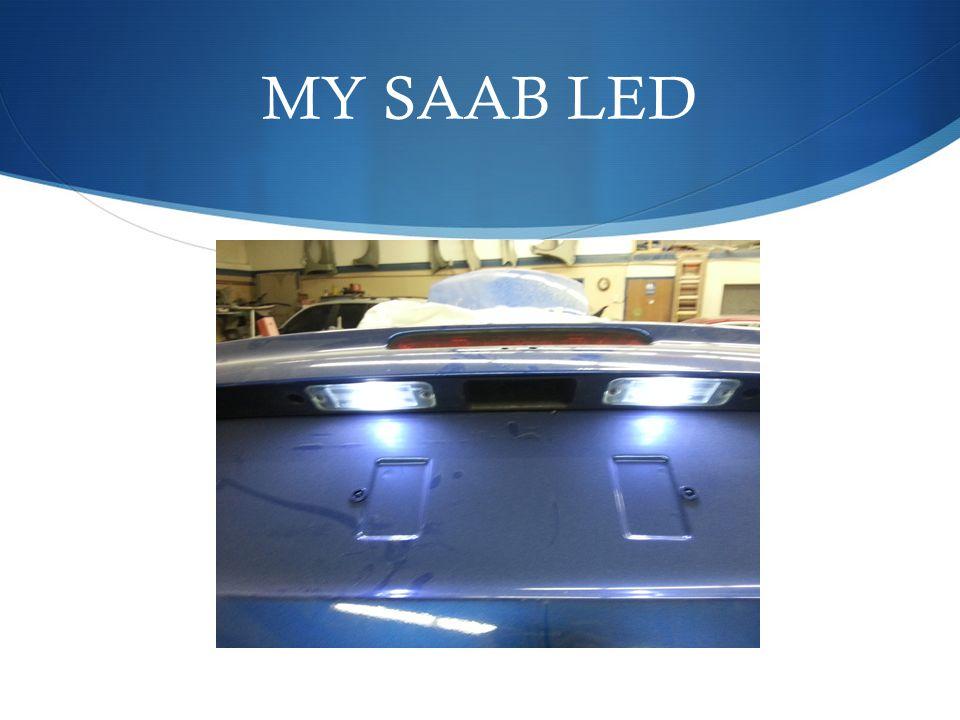 MY SAAB LED