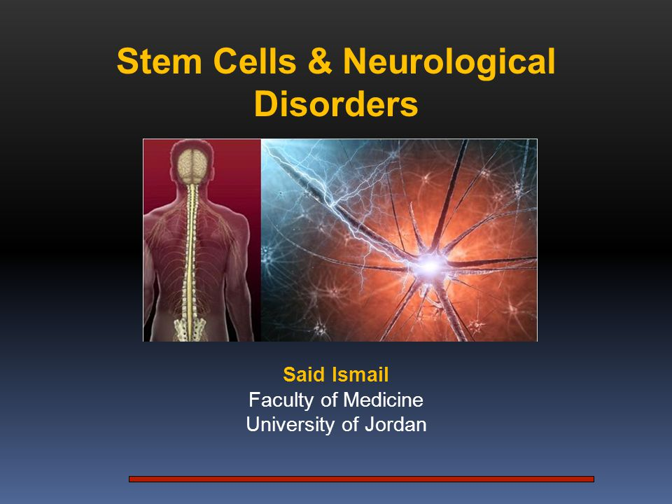 Embryonic Stem Cell Stem Cells and Neurological Disorders