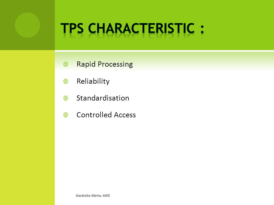 Rapid Processing Reliability Standardisation Controlled Access