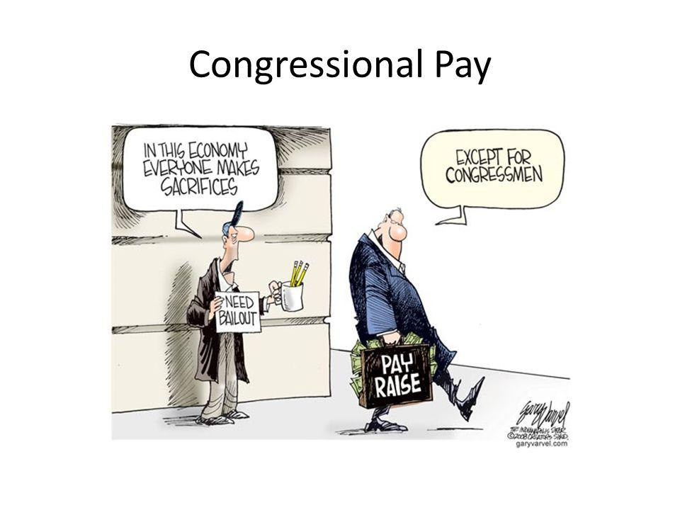 Congressional Pay