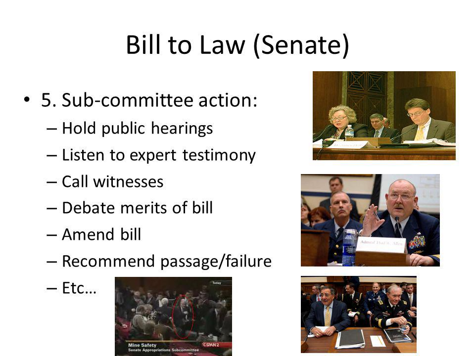 Bill to Law (Senate) 5.