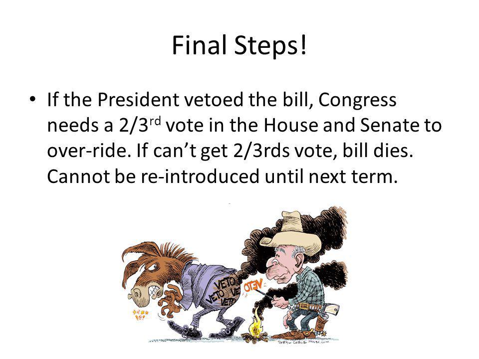 Final Steps.