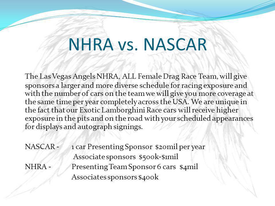 NHRA vs.