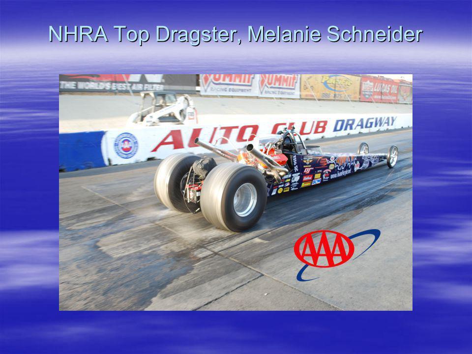 NHRA Top Dragster, Melanie Schneider