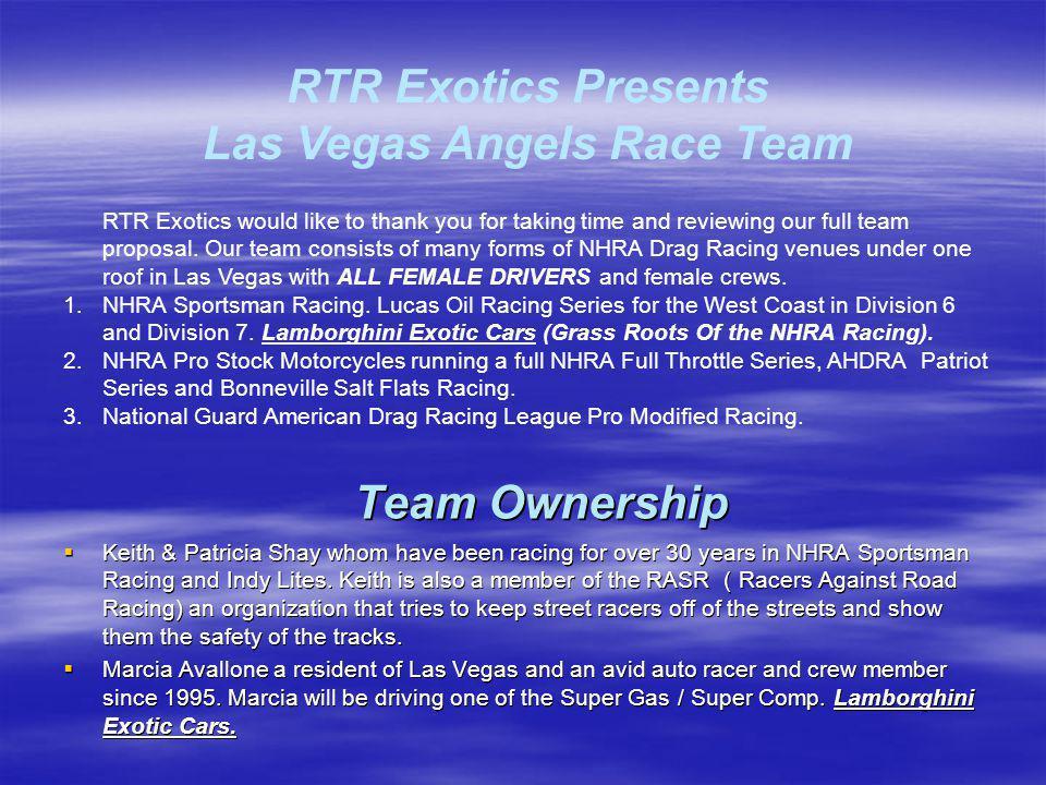Associate Sponsors Pro Stock Motorcycle $450,000.ea.
