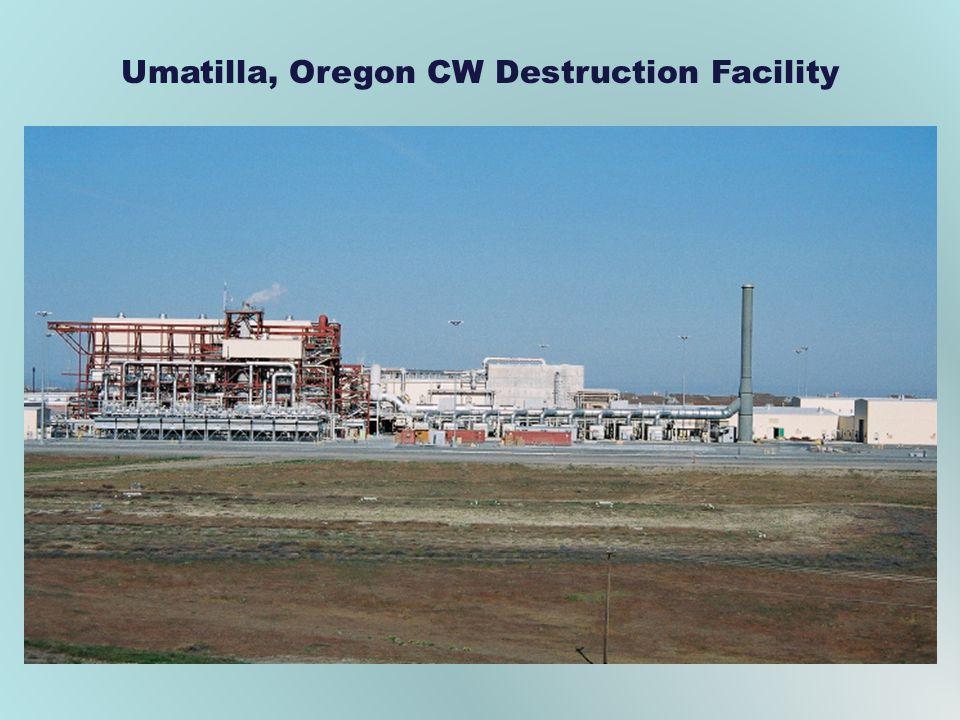 Umatilla, Oregon CW Destruction Facility