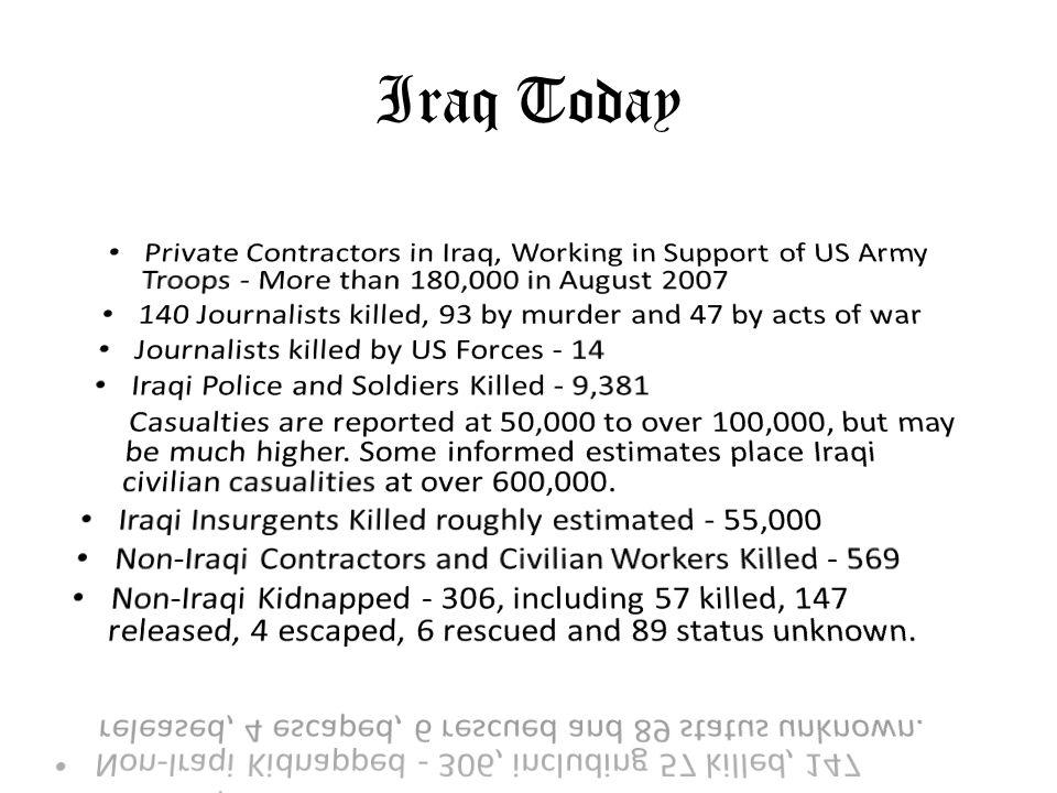 Iraq Today