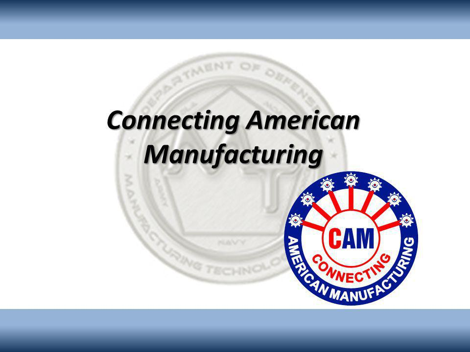 Connecting American Manufacturing