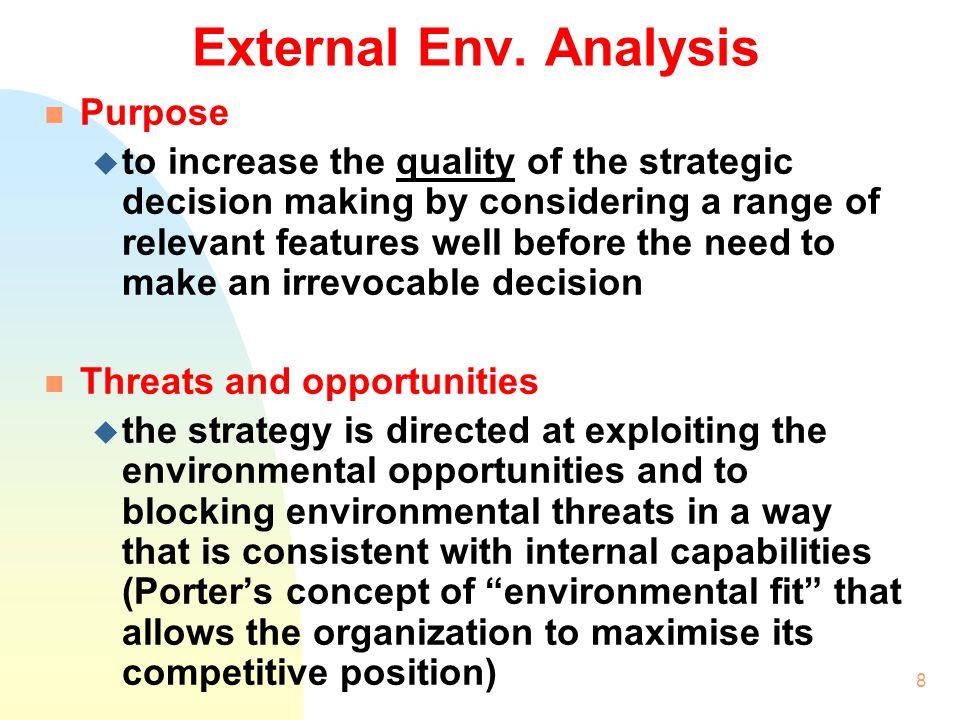 7 2. External Environmental Analysis Tools