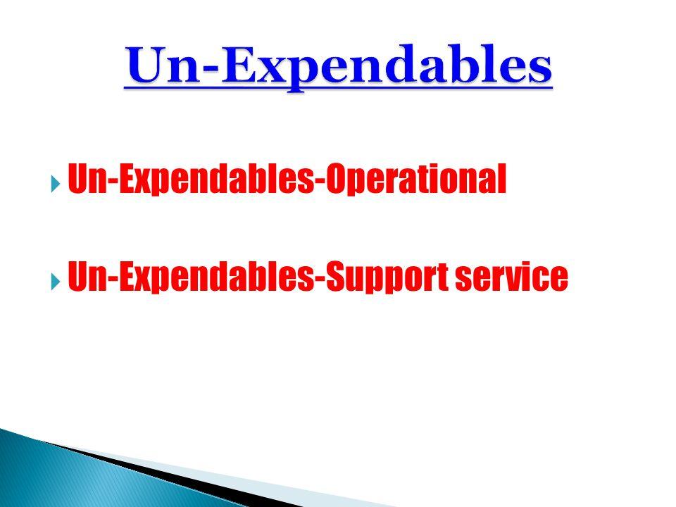 Un-Expendables-Operational Un-Expendables-Support service