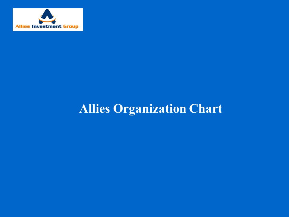 Allies Investment Group 25 Employees Admin.Department Office Manager Admin.