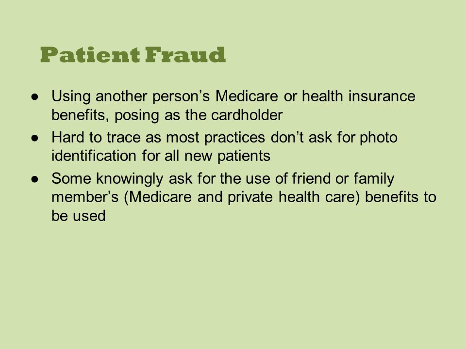 Optometrist Fraud - Medicare Medicare is Australias publicly funded healthcare system that allows Australian citizens and permanent residents to receive subsidised treatments from certain healthcare professionals such as optometrists (Department of Human Services 2013).