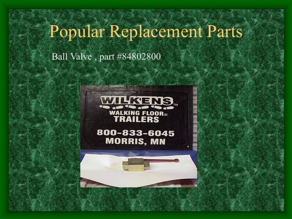 Popular Replacement Parts Ball Valve, part #84802800