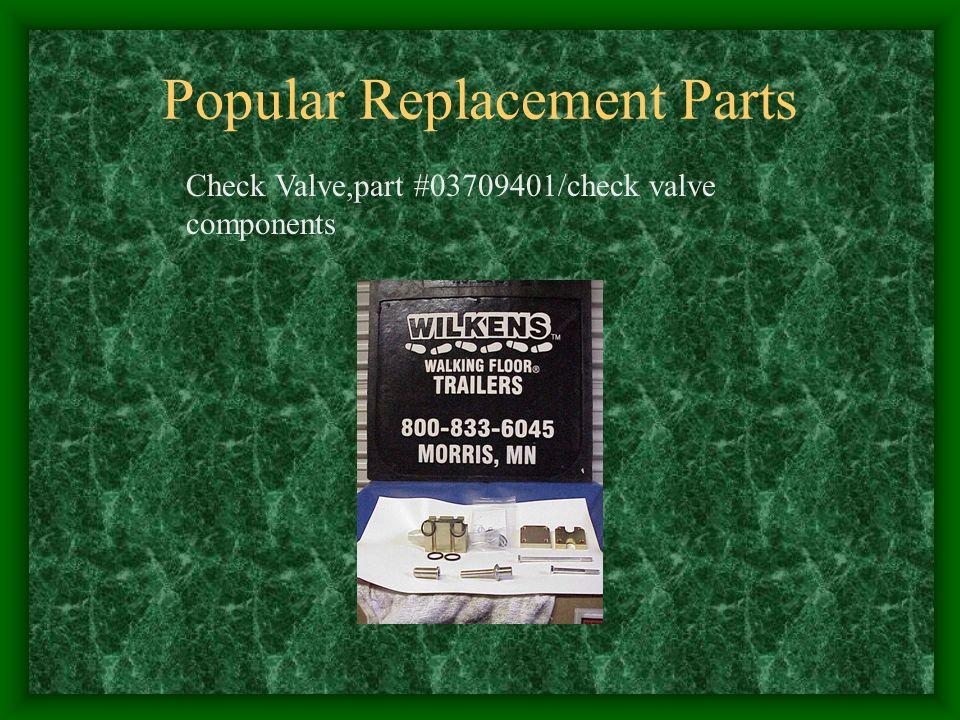 Popular Replacement Parts Check Valve,part #03709401/check valve components