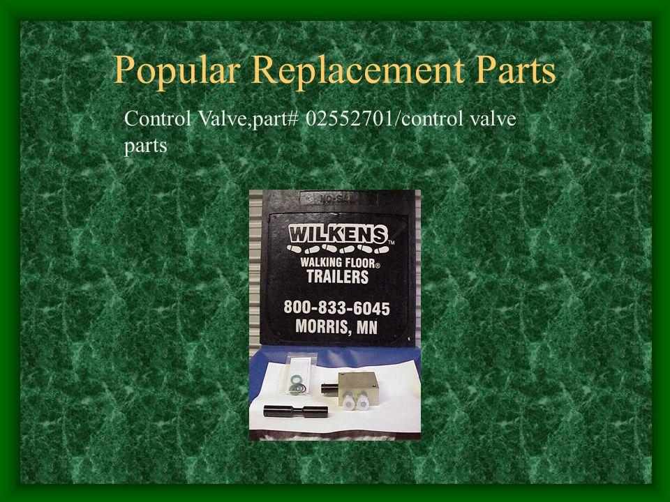 Popular Replacement Parts Control Valve,part# 02552701/control valve parts