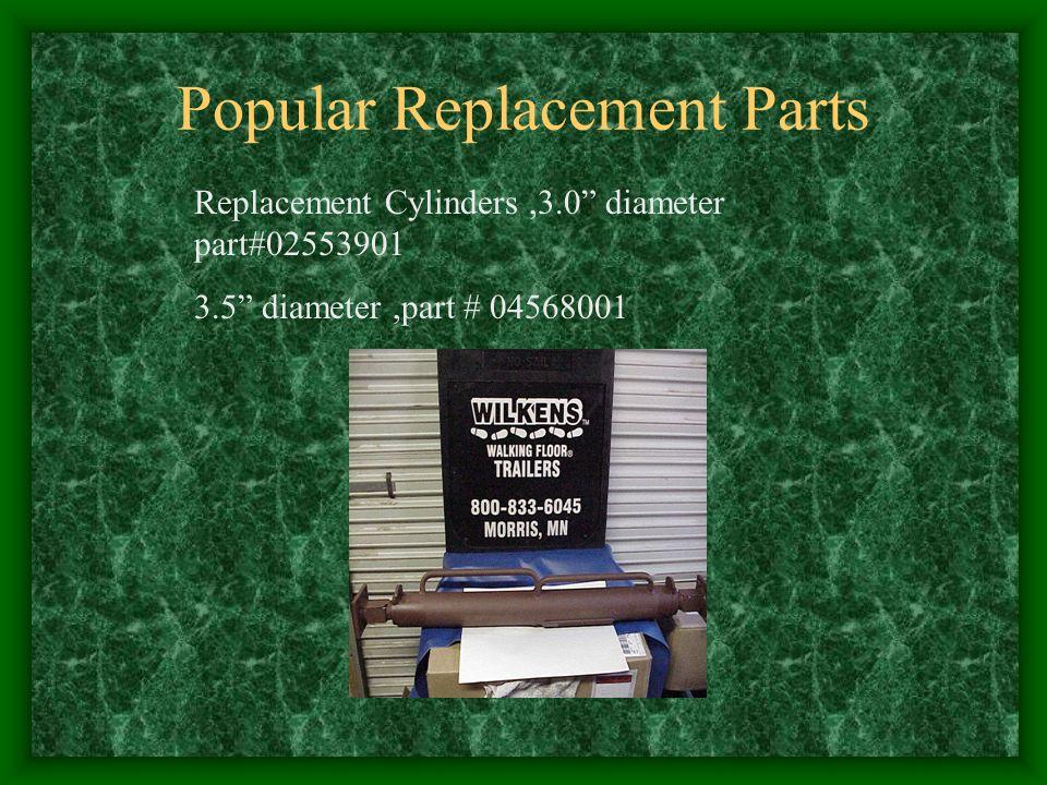 Popular Replacement Parts Replacement Cylinders,3.0 diameter part#02553901 3.5 diameter,part # 04568001