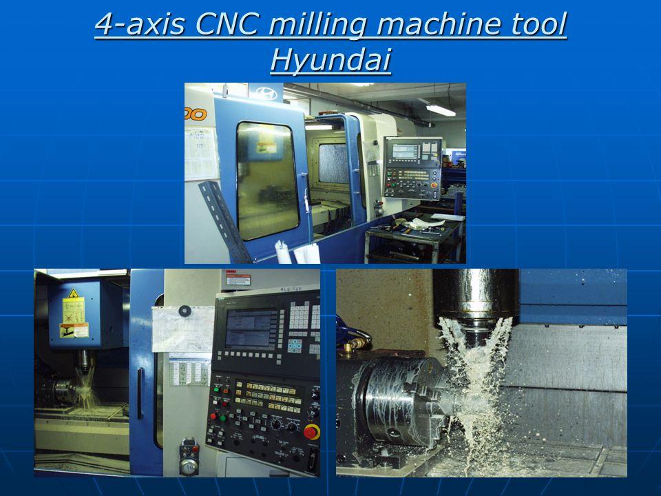4-axis CNC milling machine tool Hyundai