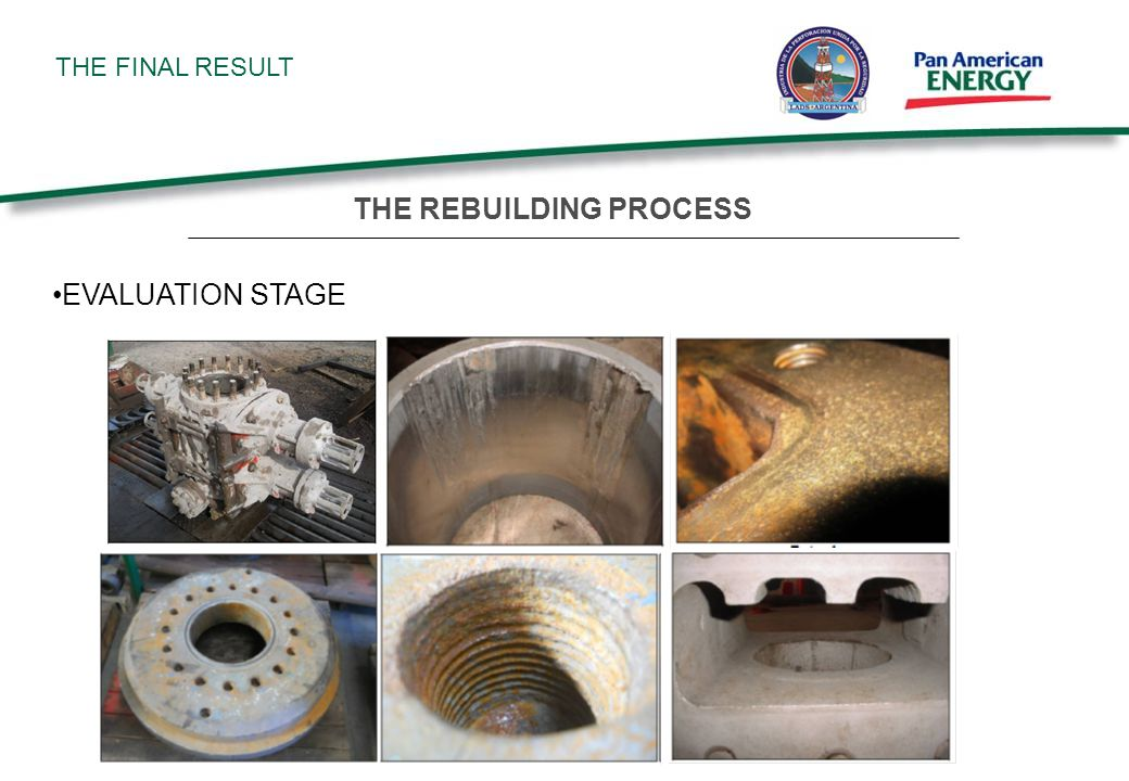 THE FINAL RESULT EVALUATION STAGE THE REBUILDING PROCESS