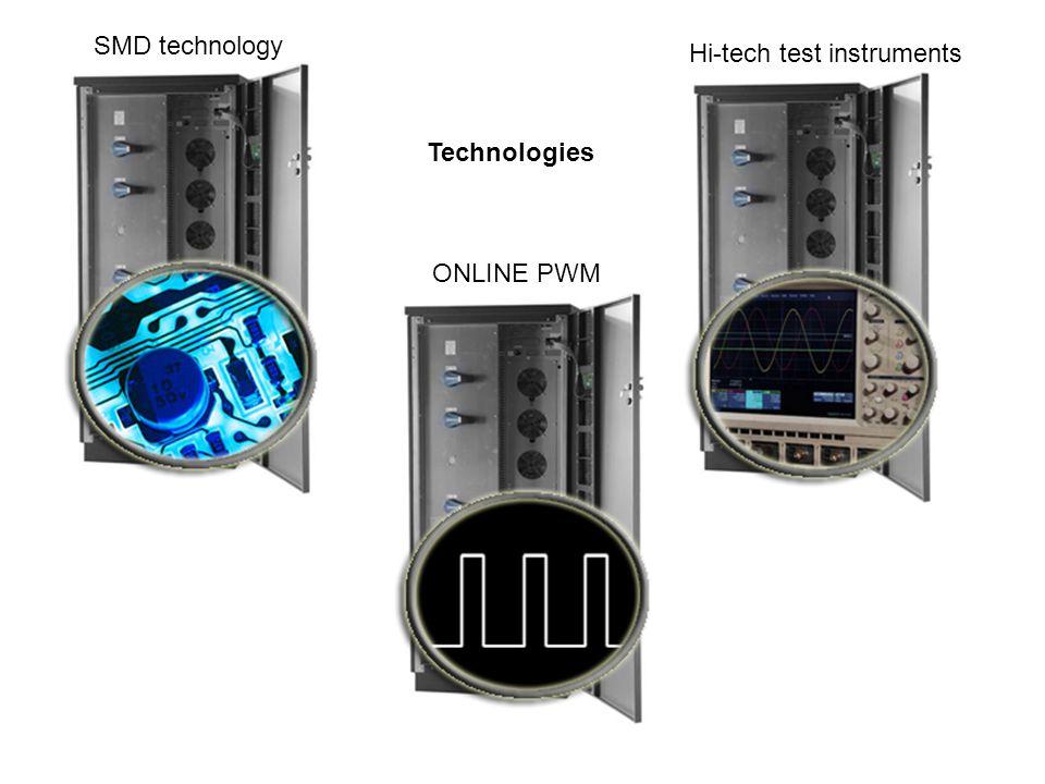Technologies SMD technology Hi-tech test instruments ONLINE PWM